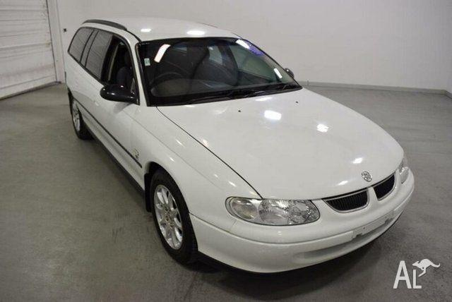 2000 Holden Commodore Vtii Executive White 4 Speed