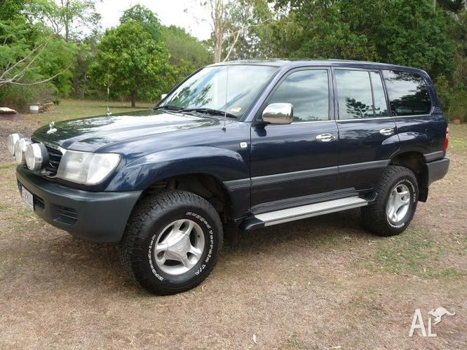 2000 toyota land cruiser turbo diesel automatic for sale in st helens queensland classified. Black Bedroom Furniture Sets. Home Design Ideas