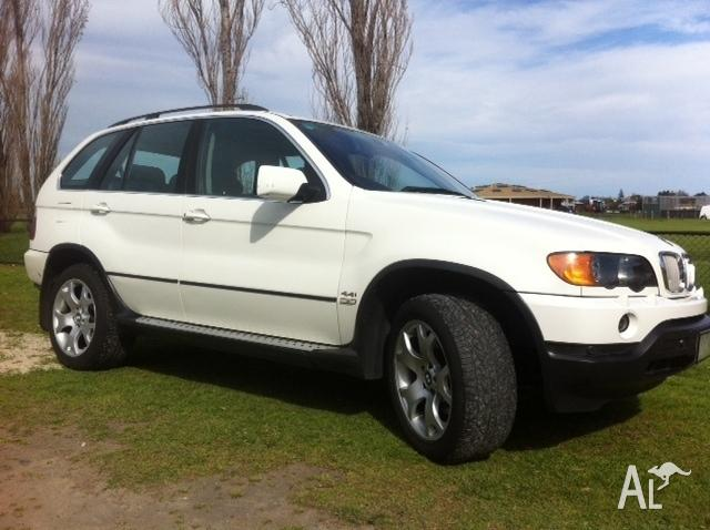 2001 BMW X5 Wagon - ONLY BANK DEPOSIT FOR PAYMENT