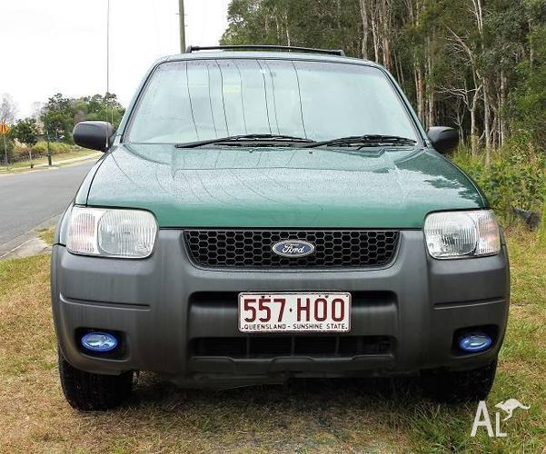 2001 Ford Escape Wagon Auto RWC