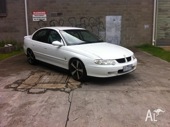 2001 HOLDEN COMMODORE VX ACCLAIM DUAL FUEL GREAT