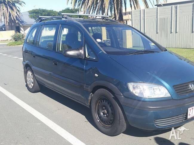 2001 Holden Zafira Wagon