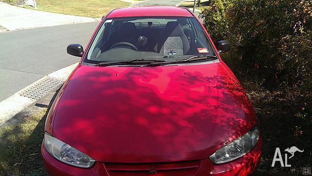 2001 Mitsubishi Mirage Hatchback Long Registration
