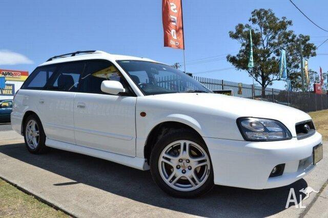 2001 Subaru Liberty My01 Rx White 4 Sd Automatic
