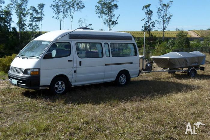 2001 Toyota Hiace AUTO Commuter Bus Campervan sell swap trade for