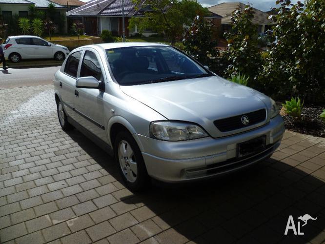 2002 Holden Astra Hatchback Auto