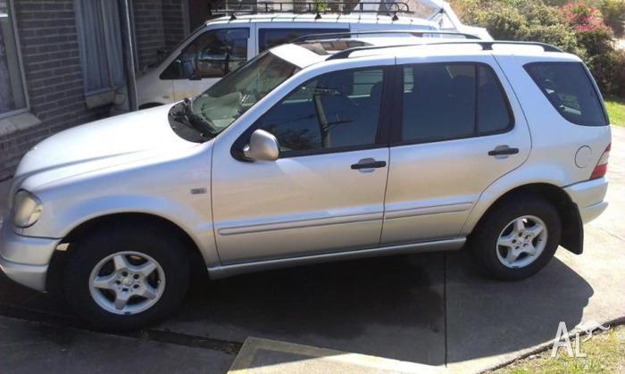 2002 Mercedes-Benz ML SUV