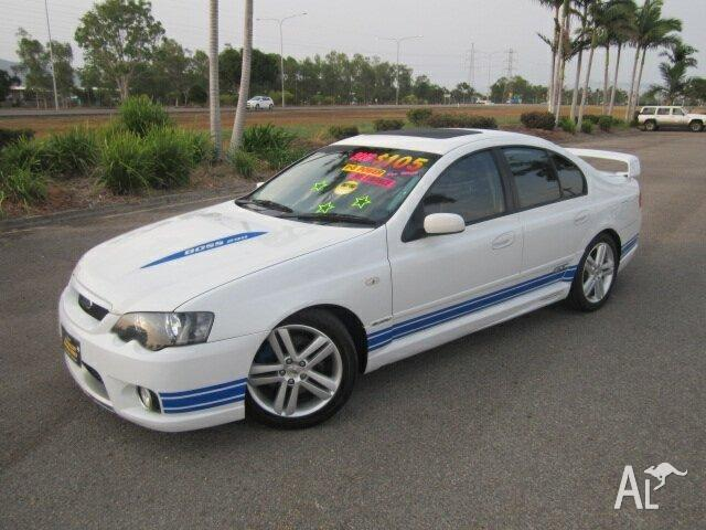 2003 FPV GT BA White 4 Speed Auto Seq Sportshift Sedan for Sale in