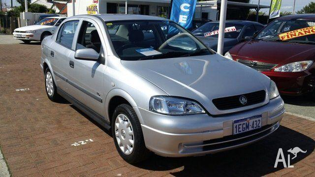 2003 Holden Astra TS MY03 CD Silver 4 Speed Automatic