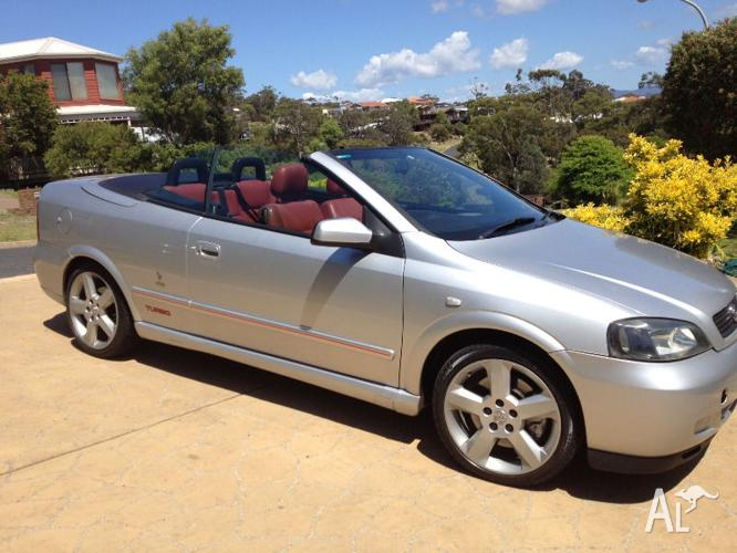 2003 Holden Astra Turbo Convertible Coupe Manual  Swap