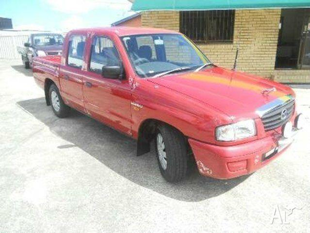 2003 Mazda Bravo B2600 DX Red 4 SPEED Automatic Utility
