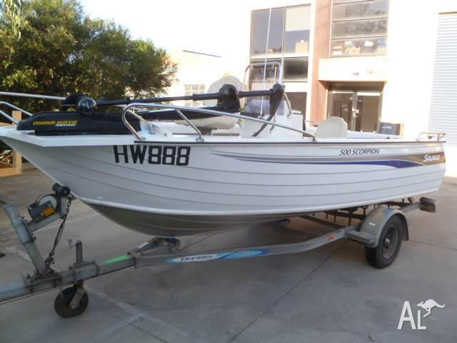 2004 Savage 500 Scorpion Centre Console, 75hp Yamaha