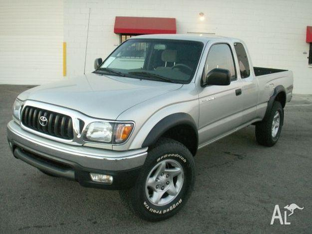 2004 toyota tacoma v6 xtra cab silver 12 800 for sale in canberra australian capital. Black Bedroom Furniture Sets. Home Design Ideas