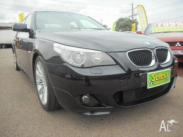 2005 BMW 525i E60 M Sport Steptronic Black 6 Speed