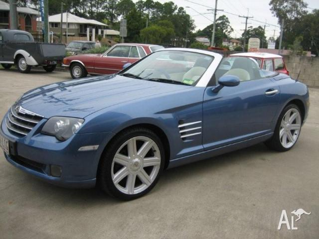 2005 chrysler crossfire convertible for sale in capalaba queensland classified. Black Bedroom Furniture Sets. Home Design Ideas