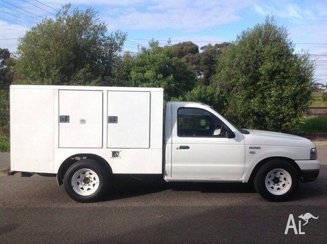 2005 Ford Courier PH (Upgrade) GL Super Cab White 5