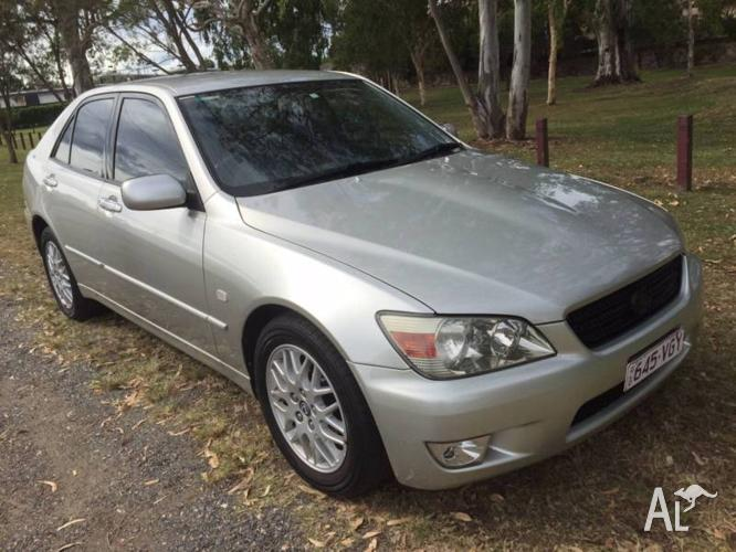 2005 Lexus IS200, ONE OWNER, AUTO, REGO, RWC, LOGBOOKS