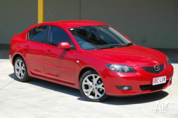 2005 Mazda 3 BK Maxx Sport Red 4sp A Sedan