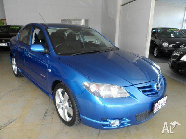 2005 mazda 3 bk sp23 blue 4 speed auto activematic sedan for sale in australia fair queensland. Black Bedroom Furniture Sets. Home Design Ideas
