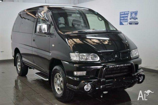 2005 Mitsubishi Delica PD6W Spacegear Black Automatic