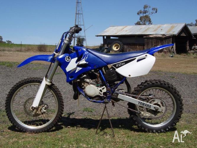 2005 yamaha yz85 big wheel for sale in bell queensland for Yamaha yz85 top speed