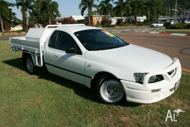 2006 Ford Falcon BF XL Super Cab White 4 Speed Sports