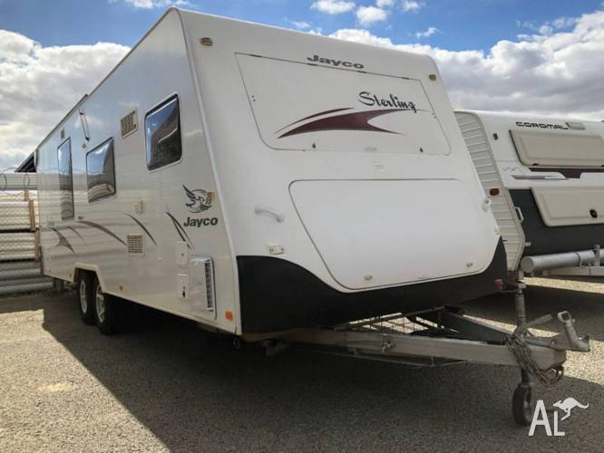 2006 Jayco Sterling Deluxe Touring 25ft