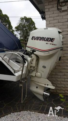 2007 Evinrude Etec 250 HP BRP Outboard Boat Motor