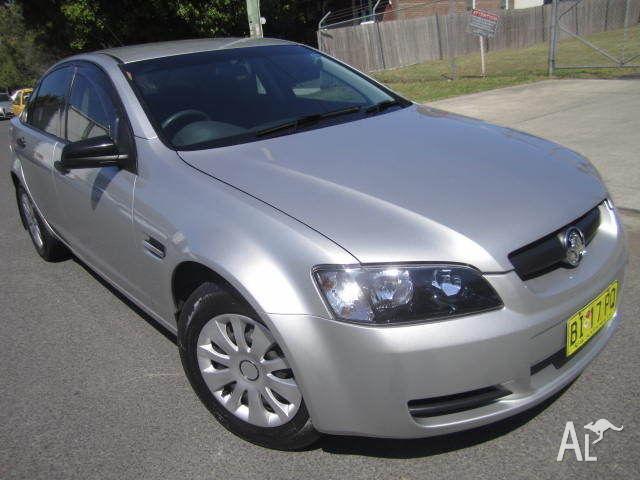 2007 Holden Commodore Sedan LPG fuel Omega