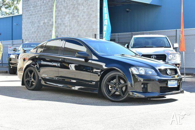 2007 Holden Commodore VE SS Black 6 Speed Sports