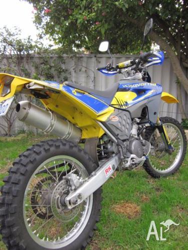 2007 Husqvarna TE610 dual sport