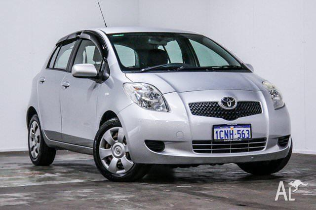 2007 Toyota Yaris NCP91R YRS 5 Speed Manual Hatchback