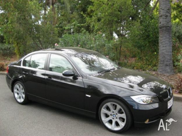 BMW I Steptronic Sapphire Black Speed Automatic Sedan - 2008 bmw 325
