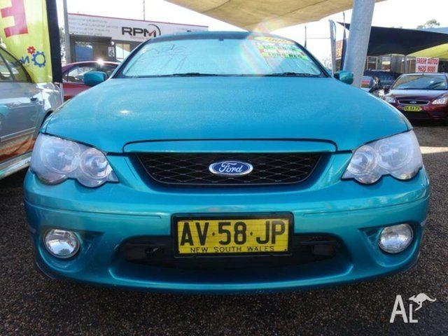 2008 Ford Falcon BF MkII 07 Upgrade XR6 Green 4 Speed Auto Seq
