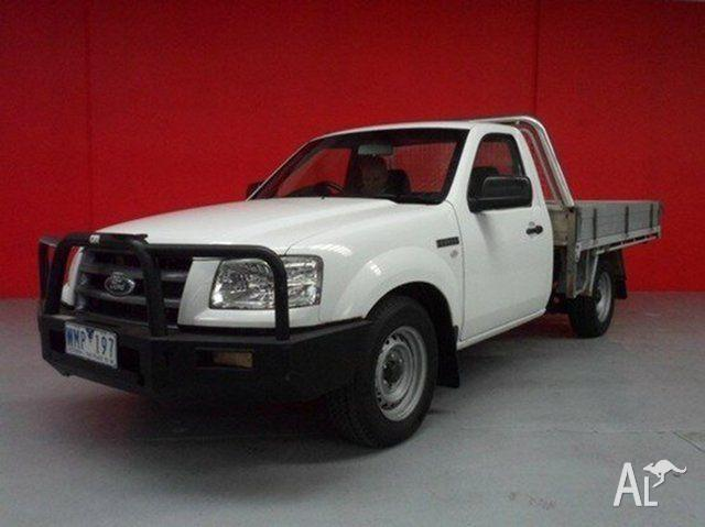 2008 Ford Ranger Cool White Manual Cab Chassis