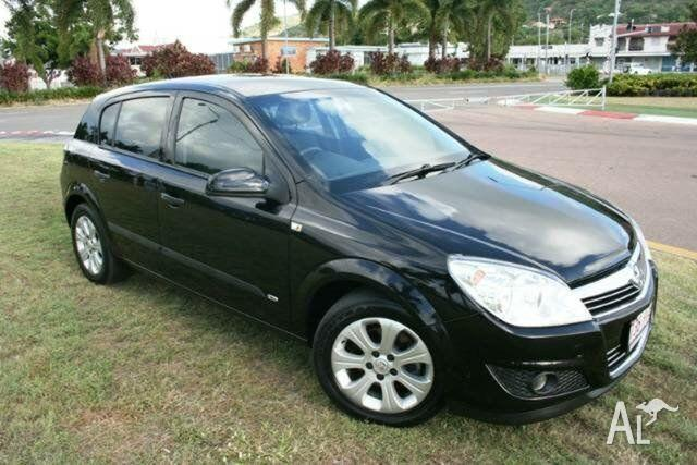 2008 Holden Astra AH MY08.5 60th Anniversary Black 5