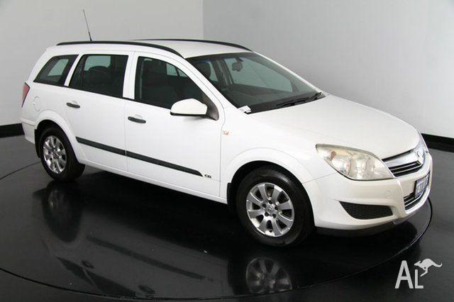 2008 Holden Astra AH MY08.5 60th Anniversary White 4