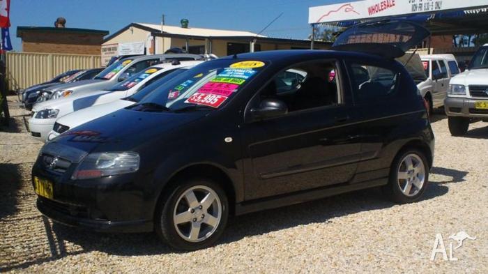 2008 Holden Barina AUTO HATCH