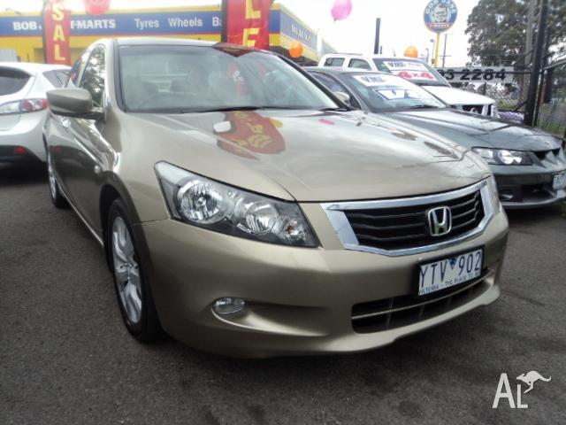 2008 Honda Accord 8th Gen VTI-L Gold 5 Speed Automatic