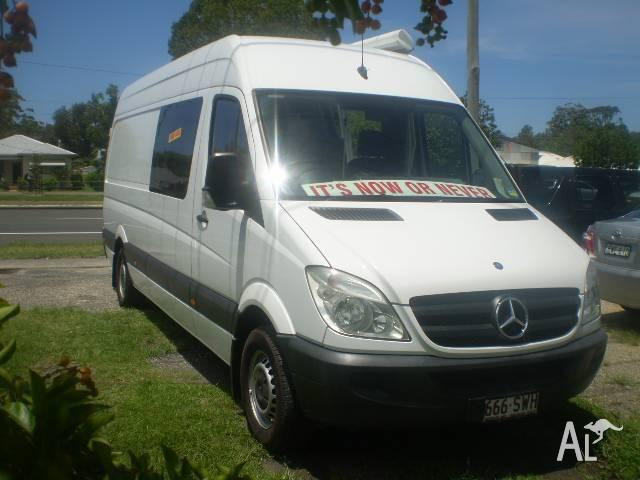 2008 Mercedes BIG CAMPER VAN LOW KMS