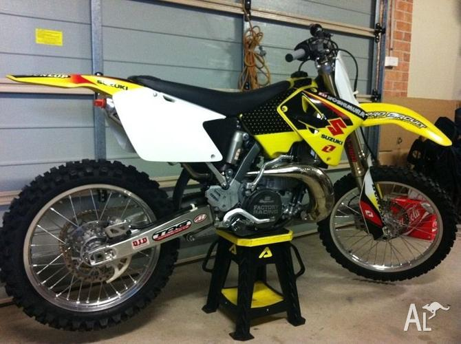 2008 Suzuki RM 250 for Sale in BEAUMONT HILLS, New South