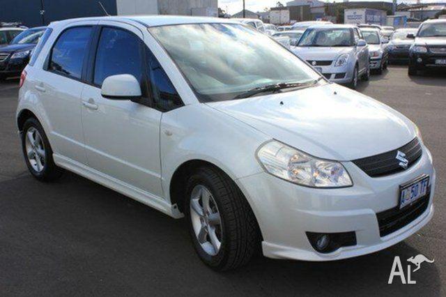 2008 Suzuki SX4 White Automatic Hatchback