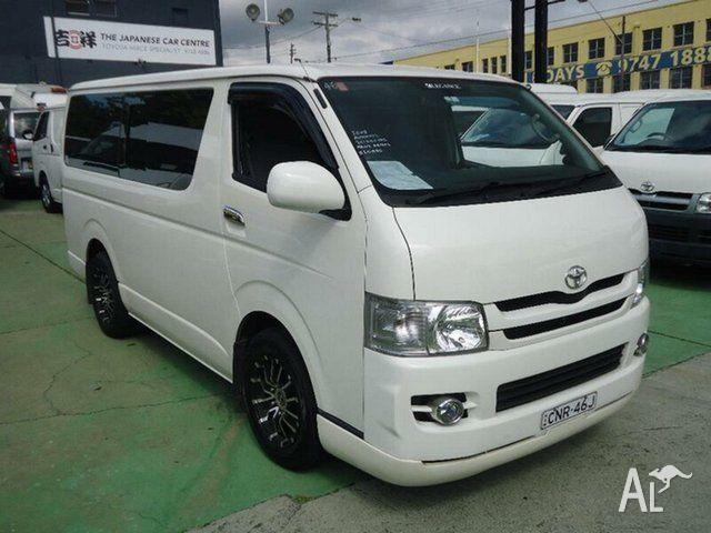 2008 Toyota Hiace TRH201R MY07 Upgrade LWB White 4