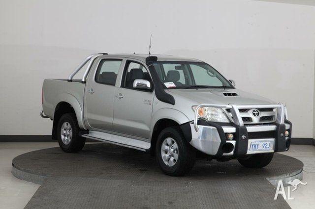 2008 Toyota Hilux KUN26R 08 Upgrade SR5 (4x4) Silver 4