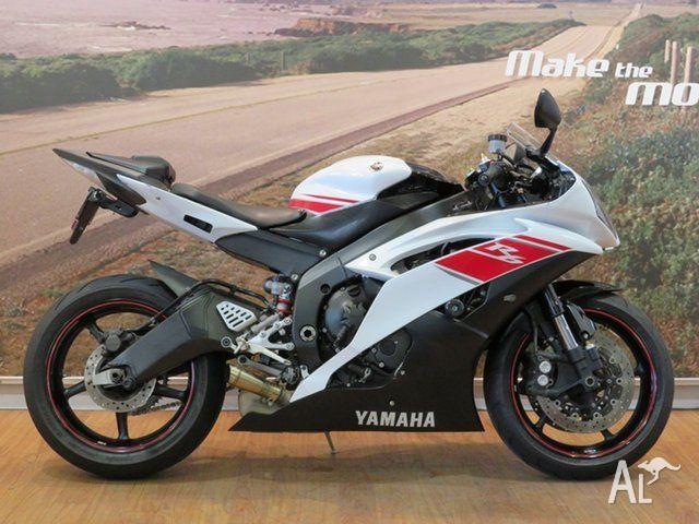 2008 Yamaha YZF-R6 600CC 599cc