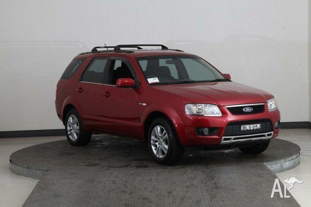 2009 Ford Territory SY Mkii TS (4x4) Burgundy 6 Speed
