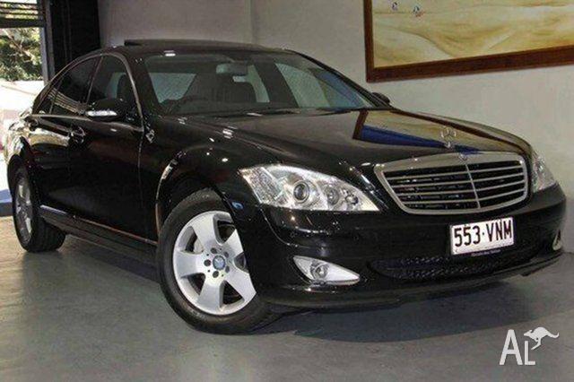 2009 Mercedes-Benz S320 221 07 Upgrade CDI Black 7