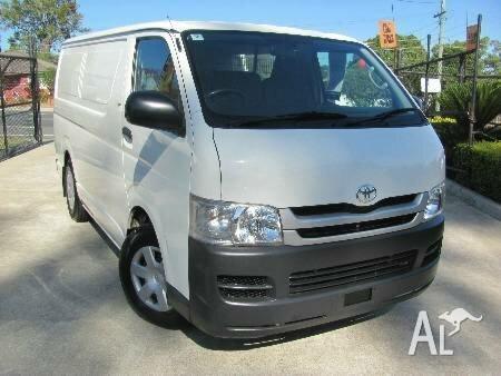 5e76ddd559b1ce 2009 Toyota Hiace TRH201R MY08 LWB White 4 Speed Automatic Van for ...