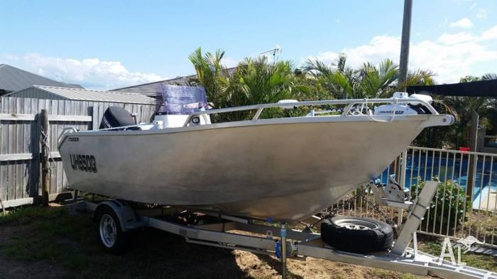 2010 Fisher Plate Boat 5 metre