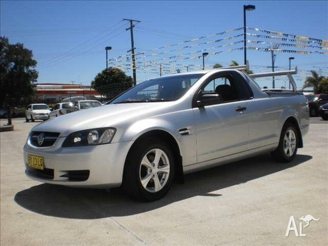 2010 Holden Commodore VE MY10 Omega 4 Speed Automatic
